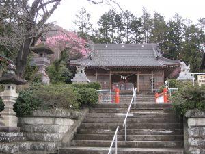 (国見町石母田)三吉神社1