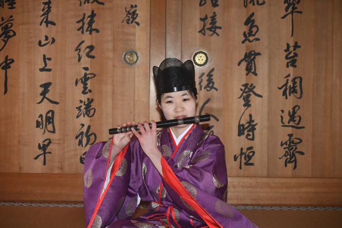 龍笛(りゅうてき)
