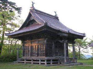 (鶴岡市 大山)三吉神社1