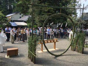 夏越の大祓式1