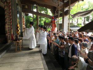 夏越の大祓式3